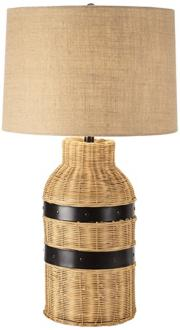 Arteriors Home Heath Snake Right Facing Iron Table Lamp
