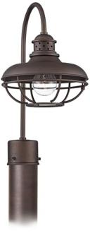 Franklin Park Metal Cage 16 Quot High Bronze Post Light 3y369