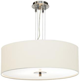 White Four Light 24 Wide Pendant Chandelier J9972
